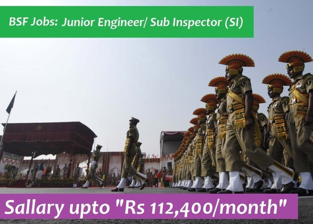 bsf junior engineer job