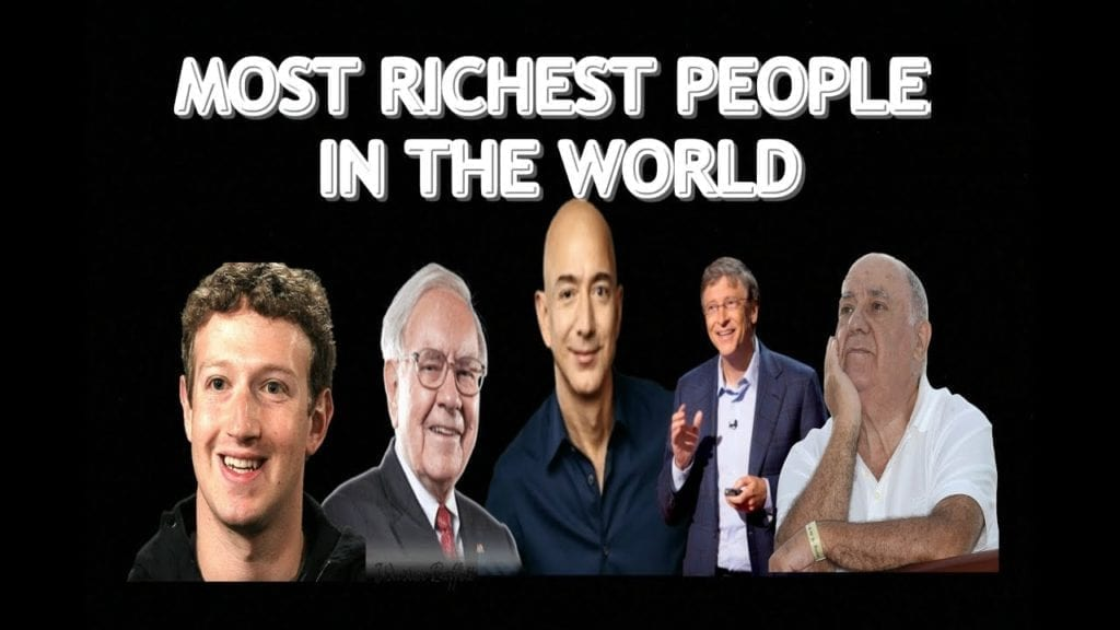 world's richest persons 2018